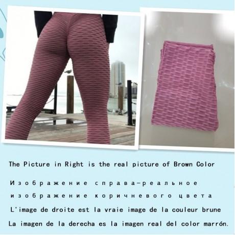 2020 Sexy Yoga Celana Kebugaran Olahraga Legging Jacquard Olahraga Legging Wanita Menjalankan Celana Pinggang Tinggi Yoga Ketat Celana Olahraga