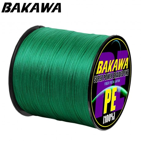 BAKAWA 4 Senar Pancing Panjang: 300M/330yds Diameter:0.2Mm-0.42Mm, ukuran: 10-85lb Jepang PE Dikepang Line Floating Line