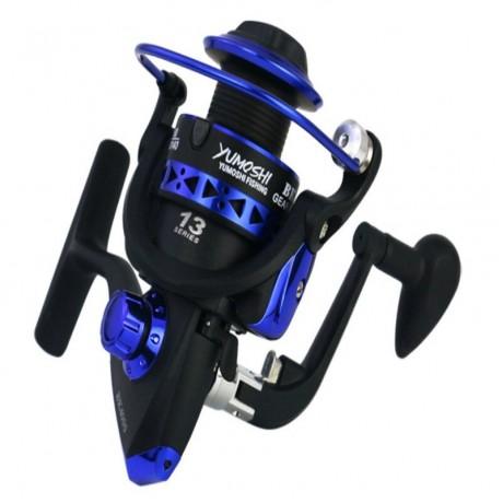 BK Series 1000-7000 Memancing Reel Full Roda Berputar Memancing Kanan Kiri Berputar Reel Full Metal Loop Kawat