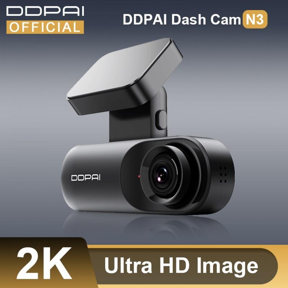 DDPAI Dash Cam Mola N3 1600P HD GPS Kendaraan Drive Auto Video DVR 2K Android Wi Fi Smart Connect mobil Kamera Perekam 24H Parkir