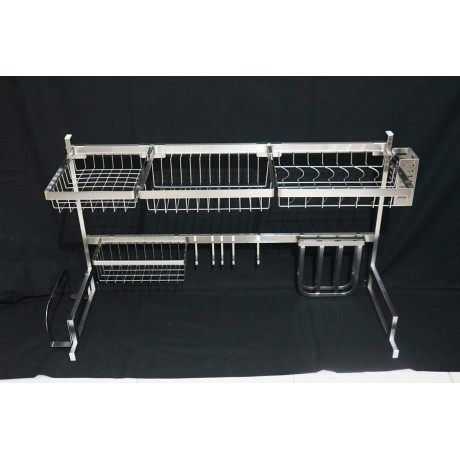 Rack Premium Over Sink Silver Stainless Steel 304