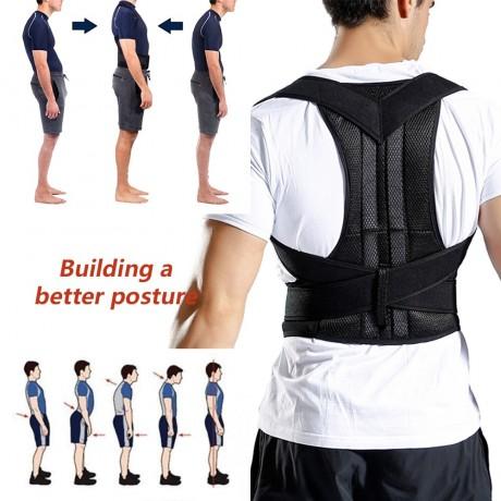 Sfit Pinggang Belakang Postur Korektor Adjustable Dewasa Koreksi Sabuk Pinggang Pelatih Bahu Lumbar Brace Tulang Belakang Dukungan Sabuk Rompi