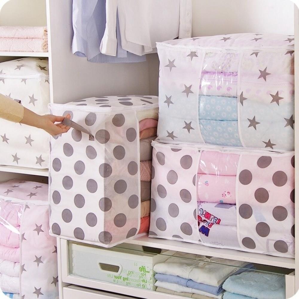 Urijk Pakaian Quilt Tas Penyimpanan Selimut Lemari Sweter Organizer Kotak Menyortir Kantong Kabinet Kontainer Perjalanan Rumah Dropshipping