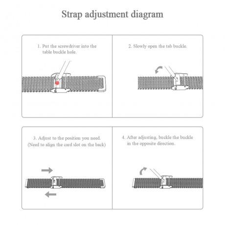 Tali untuk Xiaomi Mi Band 3 4 5 Pergelangan Tangan Gelang Logam Screwless Stainless Steel Mi Band untuk Mi Band 4 3 5 Tali Gelang Pulseira